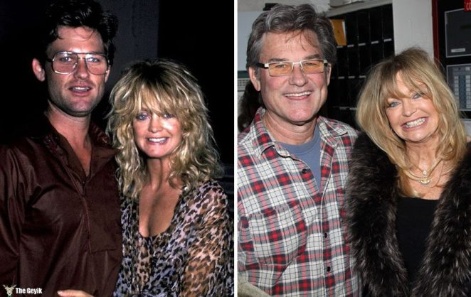 #11 Goldie Hawn And Kurt Russell - 33 Years Together