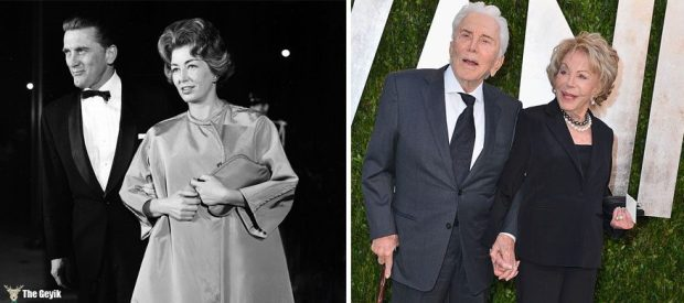 #4 Kirk Douglas And Anne Buydens - 62 Years Together