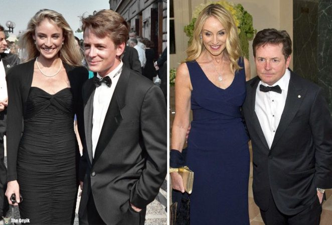 #9 Michael J. Fox And Tracy Pollan - 28 Years Together