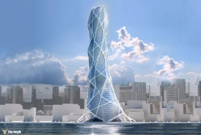 Bionic Tower 'Lava,' Abu Dhabi