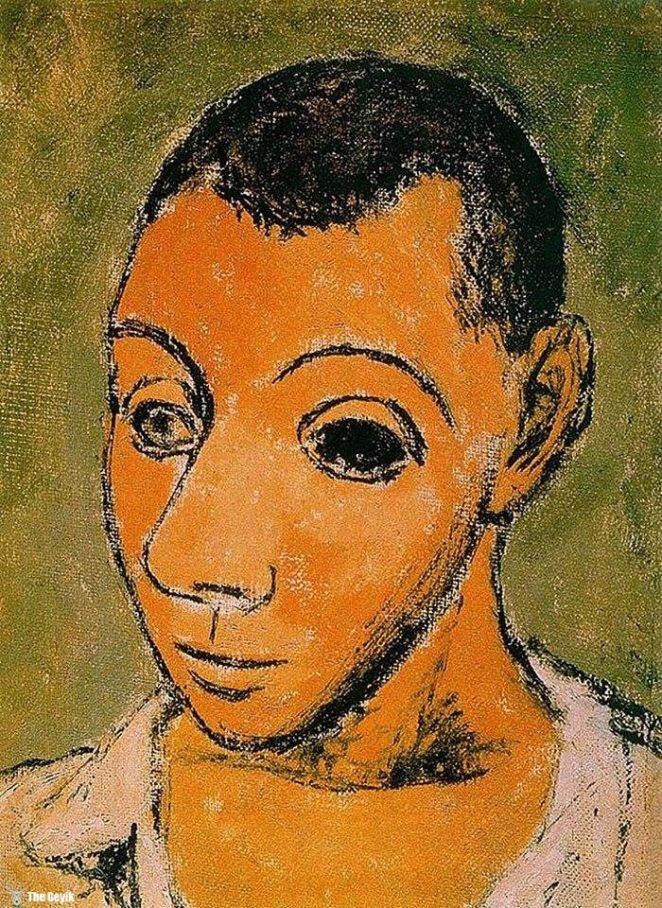 Picasso'nun kendini cizdigi resimler 24