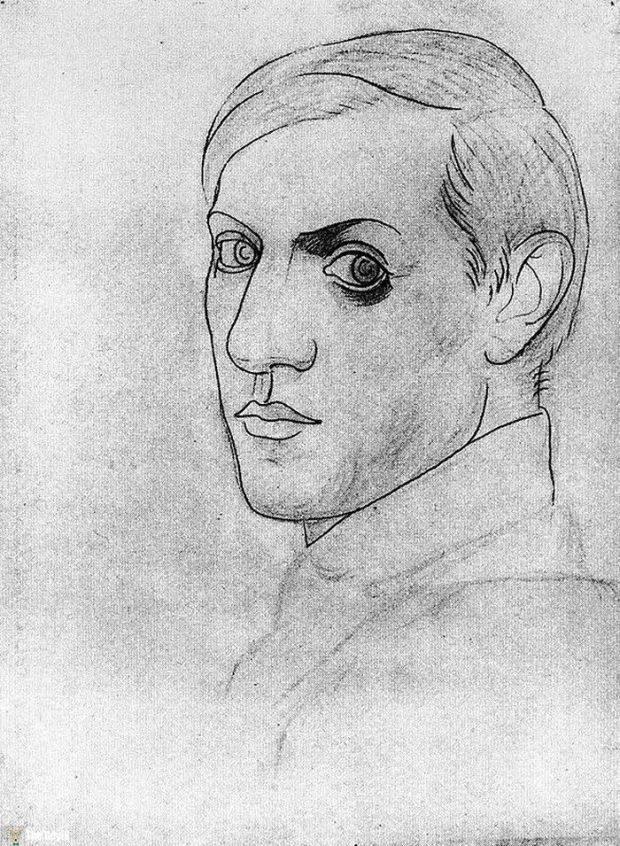 Picasso'nun kendini cizdigi resimler 35