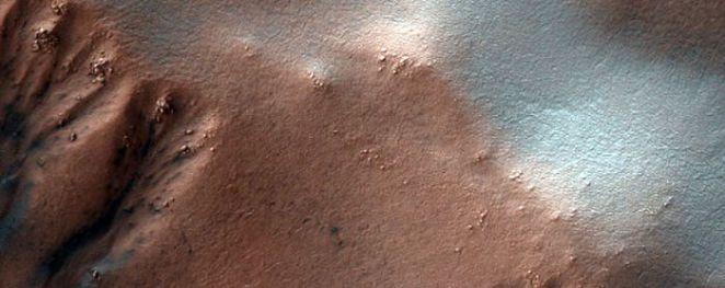 Monitor Gullies In Heaviside Crater