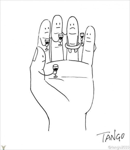 Tangodan komik cizimler5