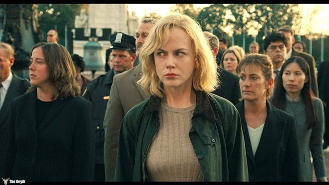 """NICOLE KIDMAN stars as Carol in Warner Bros. Pictures' and Village Roadshow Pictures' suspense thriller """"The Invasion,"""" distributed by Warner Bros. Pictures. The film also stars Daniel Craig. PHOTOGRAPHS TO BE USED SOLELY FOR ADVERTISING, PROMOTION, PUBLICITY OR REVIEWS OF THIS SPECIFIC MOTION PICTURE AND TO REMAIN THE PROPERTY OF THE STUDIO. NOT FOR SALE OR REDISTRIBUTION."""