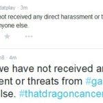 gamergate has not harassed ryan green