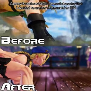 street fighter v cammy censorship