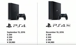 ps4 pro and ps4 slim price