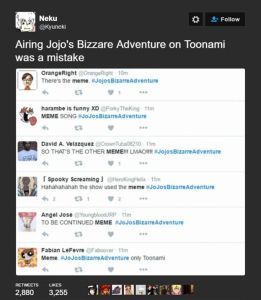toonami vs jojos bizzare adventure