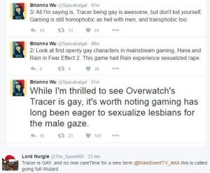 brianna wu on tracer from overwatch