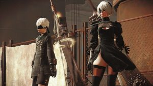nier automata in-game