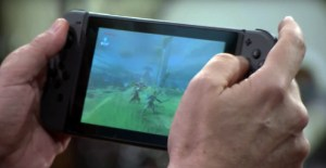 nintendo switch mobile console