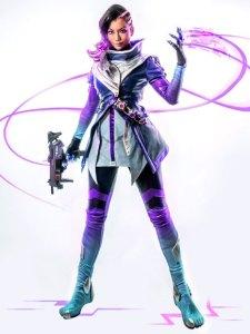pion kim sombra cosplay overwatch profile