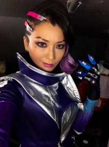 pion kim sombra overwatch cosplay all natural