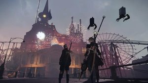 nier automata disney world