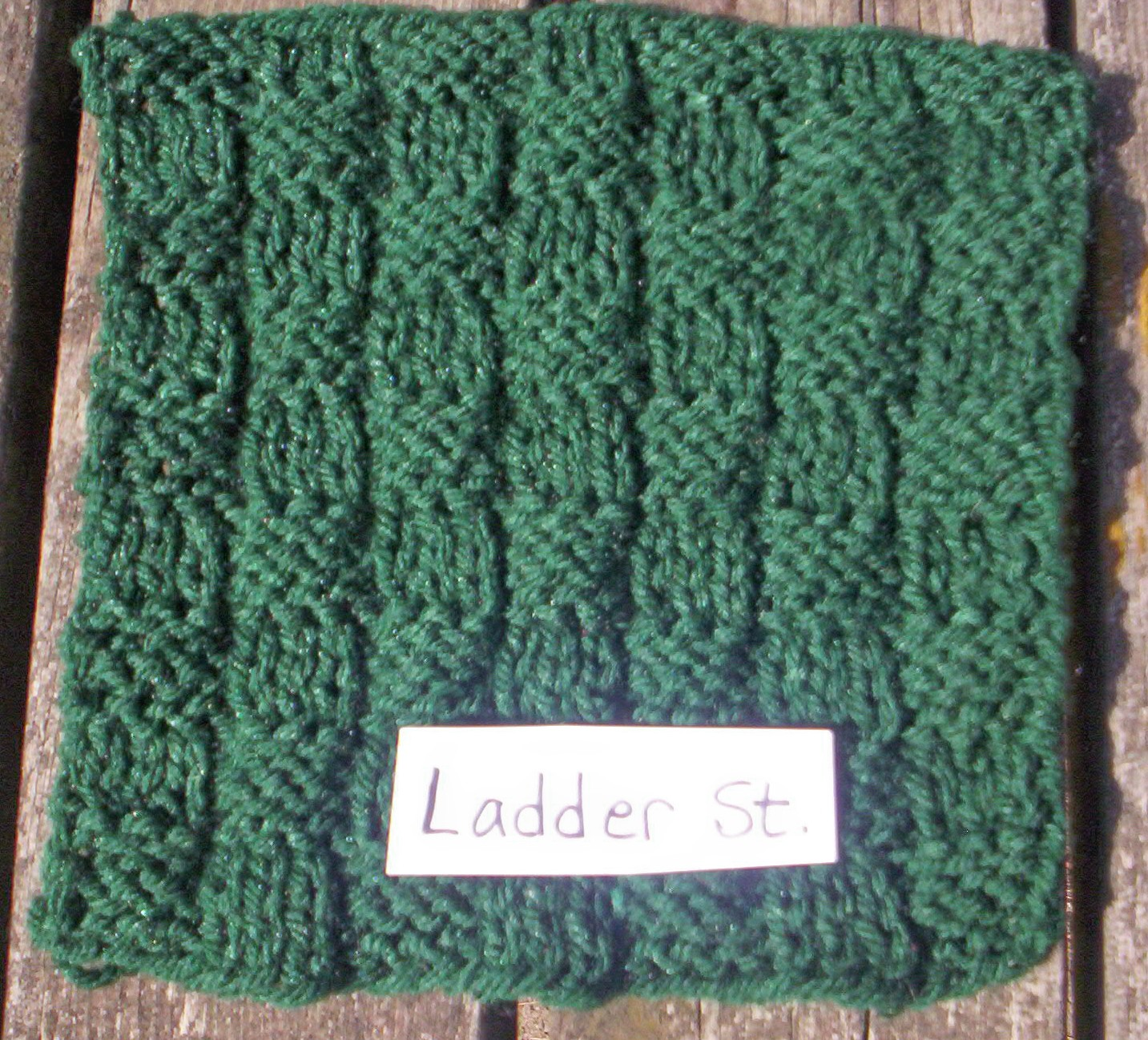 Ladder Stitch