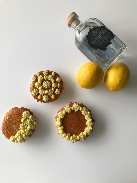 gin-toniccupcake met citrus