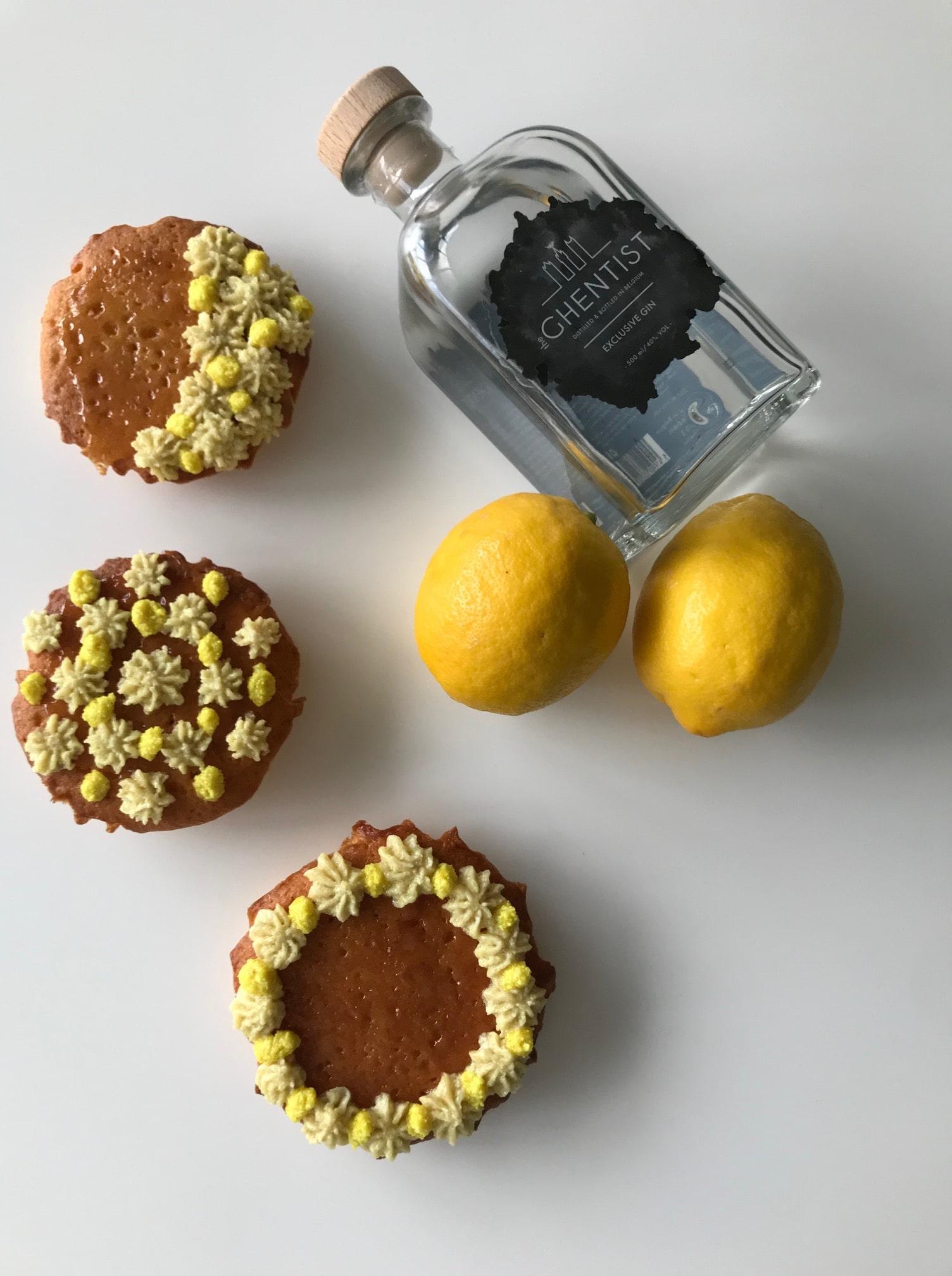 Gin-toniccake met citrussmaak