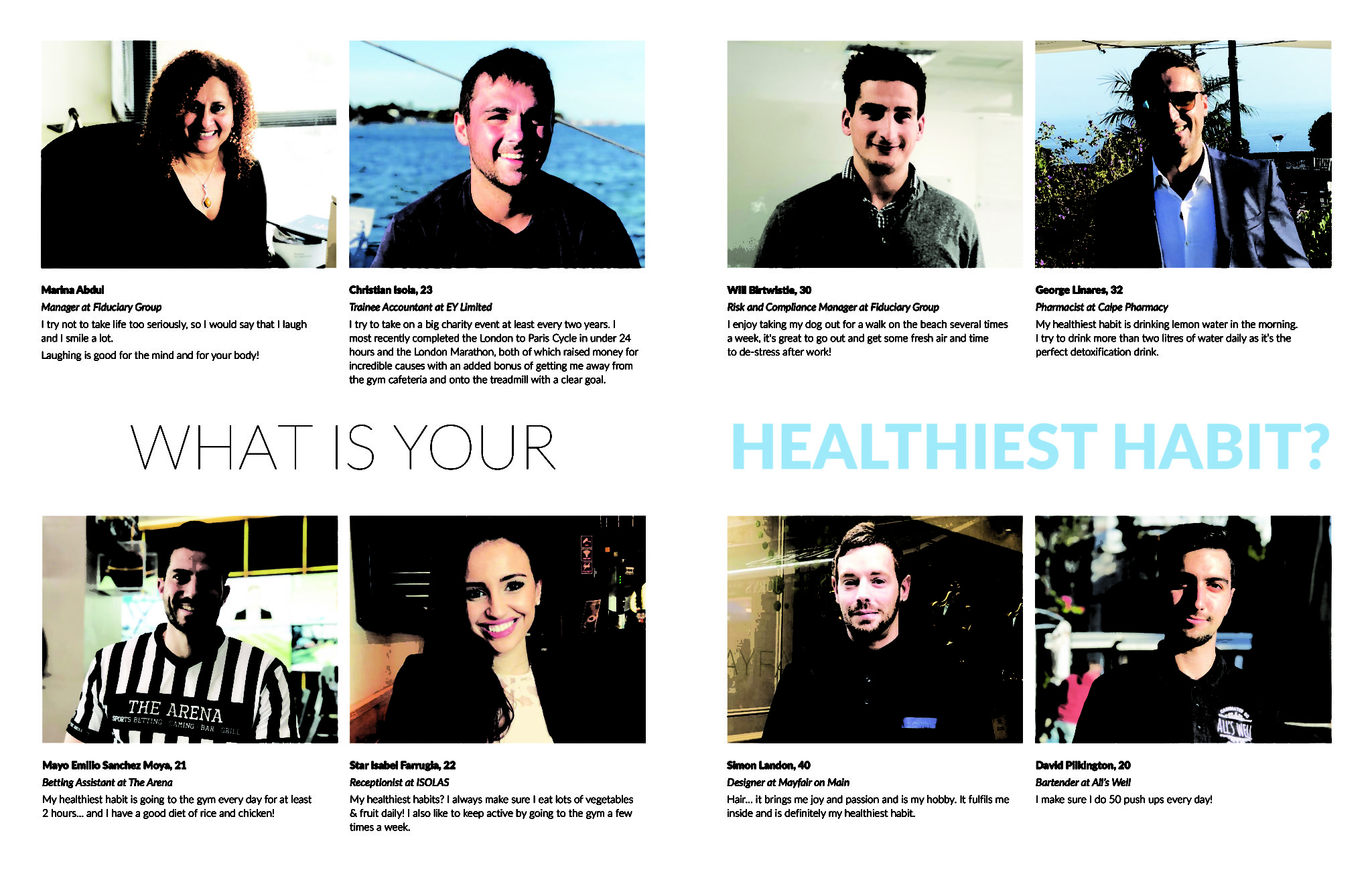 hello there – WHAT IS YOUR HEALTHIEST HABIT? | The Gibraltar