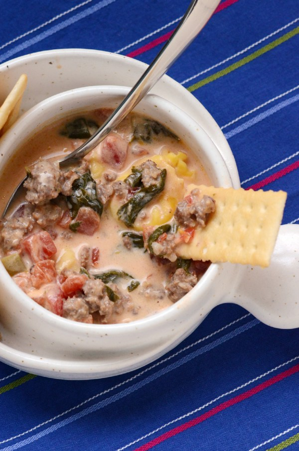 Sausage and Cheese Tortellini Soup – Recipe Review