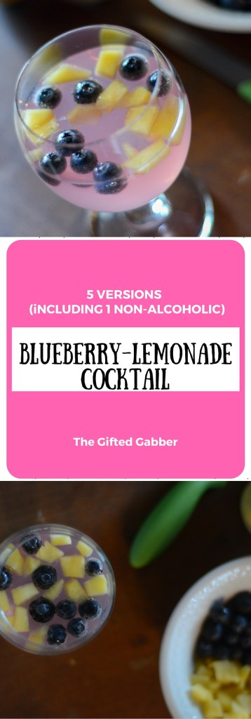 Blueberry Lemonade - The Gifted Gabber