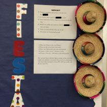fiesta days bulletin board