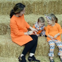 Orange and Black Halloween Style
