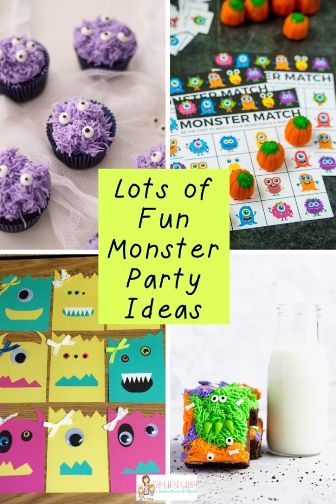 Little Monster Birthday Party Ideas The Gifted Gabber