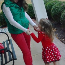 Red and Green - What We Wore
