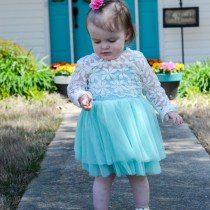 Spring Teal Dresses - The Gifted Gabber