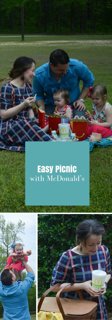 Easy Picnic with McDonald's - The Gifted Gabber