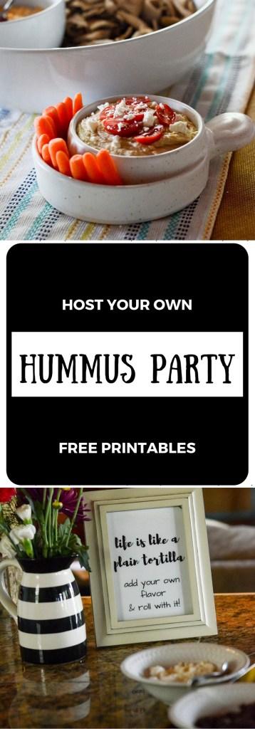 Hummus Pinwheel Making Party #hummusmadeeasy