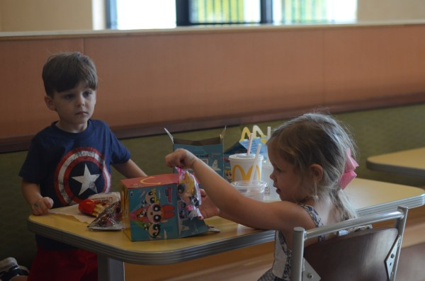 Play Date at McDonald's - The Gifted Gabber
