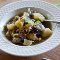 Southwestern Green Chile Pork Stew - The Gifted Gabber