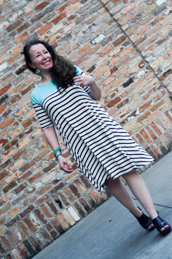 Striped Dress and Pink Blush Giveaway - The Gifted Gabber