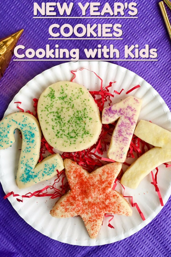 New Year's Cookies - Cooking with Kids - The Gifted Gabber