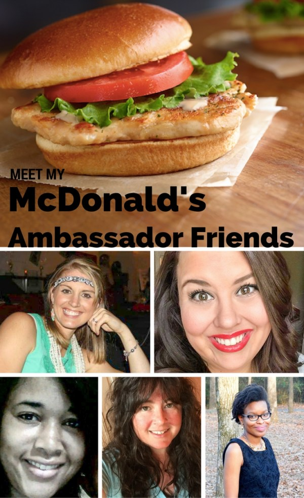 Meet My McDonald's Ambassador Friends - #mcdambassador - Bloggers - Blogging Friends - Sponsored Posts - Blogger and Brand - Blogging - The Gifted Gabber