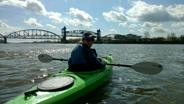 Kayaking on the Arkansas River - Explore Arkansas - Rock Town River Outfitters - Little Rock - Kayak - The Gifted Gabber