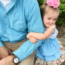 Spring Daddy Style with Jord - Daddy and Me Style - Daddy and Daughter Time - Wood Watch - #sponsored - The Gifted Gabber