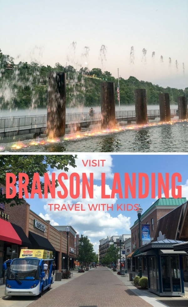 Branson Landing - Family Vacation - Branson, MO - The Gifted Gabber