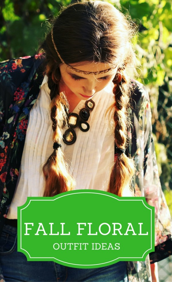 A Pintastic roundup of lots of amazing fall floral outfit ideas - Floral Dresses - Floral Accessories - Floral Skirts - Floral Tops - Floral Blouses - Floral Scarf - Fall Style - Fall Fashion - Florals for Fall - Women's Style - Work Style - Street Style - The Gifted Gabber