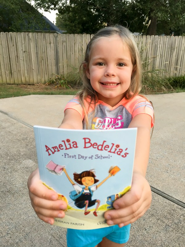 A Night Out with Daddy and Amelia Bedelia - Daddy Daughter Date - Parenting Ideas - Ideas for Dads - The Gifted Gabber