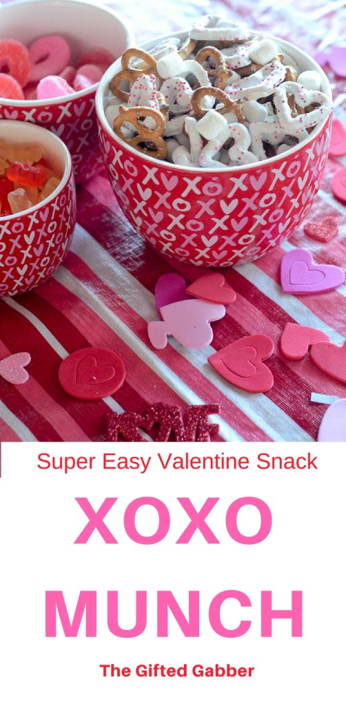 XOXO Munch (Perfect for a Galentine's Party for Little Girls)