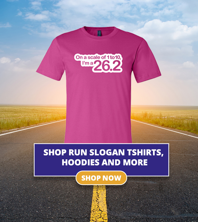 On a scale of 1 to 10, I'm a 26.2 Runner Slogan T-shirt