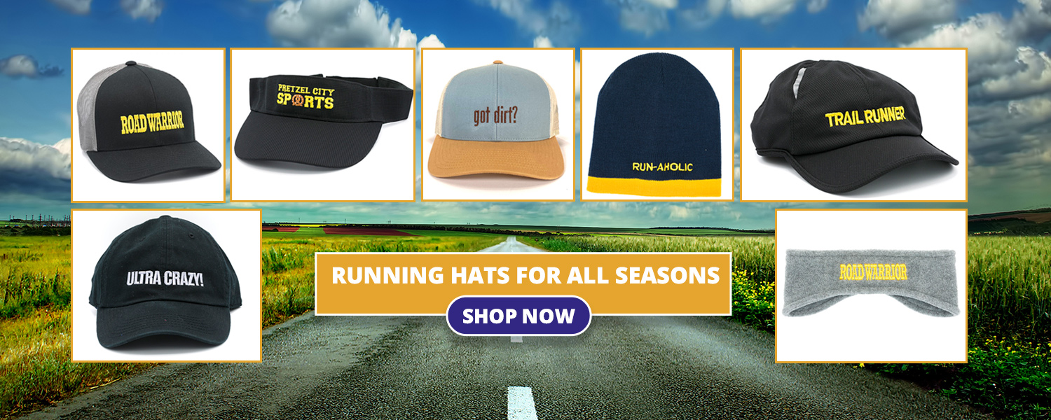 Slogan Hats for Runners and Running