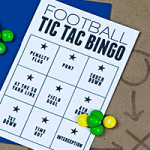 Super Bowl Fun for Kids — Play Football Tic Tac Bingo!