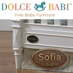 Tiny Tots Tuesdays: Personalize Your Baby's Crib with Dolce Babi Furniture
