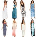Summer Maxi Dresses under $50