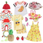 Inspired By Farmer's Markets… Fruit Filled Kids Clothes and Accessories