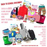Giveaway: Enter to WIN a Jewels and Pinstripes Celebrity Kids Back to School Gift Bag! (BOY or GIRL)